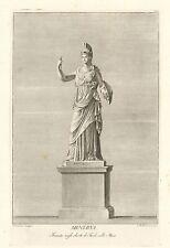 MITOLOGIA divinità dea Minerva Atena Roma Grecia Tivoli