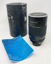 Nikon Reflex Nikkor 500mm F/8 C Mirror MF Lens Made In Japan KP21