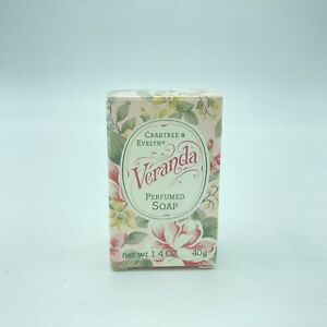 Crabtree & Evelyn VERANDA Perfumed Soap Bar In Box 1.4 oz New Vintage Stock
