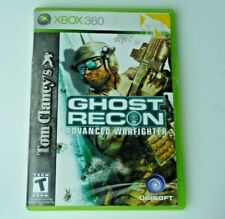 Tom Clancy's Ghost Recon Advanced Warfighter Xbox 360 Great Condition Tested