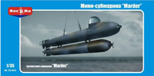 Mikro Mir 35-002 - German Mini - submarine Marder WW II - 1/35 Scale Model Kit