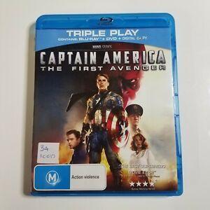 Captain America: The First Avenger | Blu-ray Movie | Marvel | Chris Evans | Used
