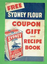 #D148.  SYDNEY  FLOUR COUPON GIFT & RECIPE BOOK