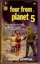 FOUR FROM PLANET 5 (Murray Leinster/1st US/PBO)