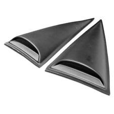 For Mitsubishi Eclipse 06-12 Racer Style Fiberglass Window Scoops Unpainted