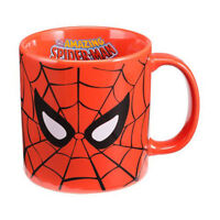 Marvel Comics Spider-Man Jumbo 20 OZ Ceramic Coffee Tea Mug Cup Red NWT in Box