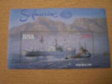 SOUTH AFRICA 1996 SHIPS M/SHEET,U/MINT.