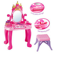 Fantasy Vanity Beauty Dresser Table W// Induction Function /& Makeup Accessories