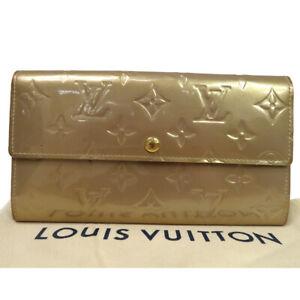 LOUIS VUITTON Portefeuille Sarah Long Wallet Monogram Vernis M91764 02MK751