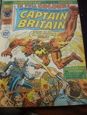 MARVEL COMICS CAPTAIN BRITAIN - 05 JANUARY 1977 # 13 DR SYNNE NICK FURY SHIELD