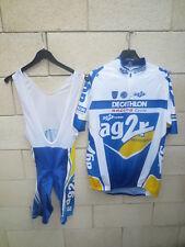 Maillot Combi Cuissard cycliste AG2R 2004 pro Team Tour de France Décathlon XXL
