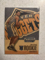 2016-17 Jamal Murray Panini Threads Wood Rookie Denver Nuggets RC