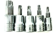 Snap-on 5 pc Combination Drive TORX Bit Heavy-Duty Socket Set