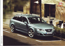 Prospekt SEAT EXEO ST/Sport/Style/Reference/ alle Modelle/Stand: 11/2009