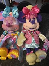 Rare Disney Parks Main Attraction Minnie- Teacups & Its A Small World.NWT!