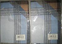 3 Stück edle Herrentaschentücher 100% Baumwolle 40x40cm Herren Taschentücher