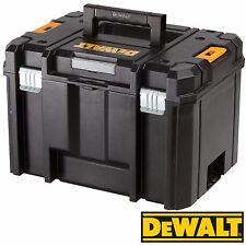 DeWalt DWST1-71195 TStak VI Heavy Duty Deep Tool Storage Case  c/w Tool Tray