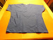 Tafford Scrub Top Size Medium (8-10) Royal Blue