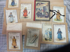 Book set of 8 Vintage Doll Clothing  Patterns Von Agnes Lucas,, Schnittmuster