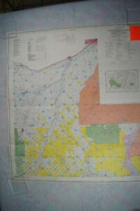 USDA Custer National Forest Beartooth Montana & Wyoming Map 1986/1995 Rev.