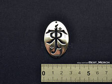Tolkien Necklace stainless steel The Lord of the Rings Pendant merch logo symbol