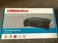 More details for usrobotics high speed internet sharing broadband router model 8004