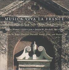 Musica Viva la France by Musica Viva of NY Chorus & Orch. (CD 1996) Faure....