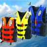Life Jacket Vest Adult PFD 3 colors Fully Enclosed Size S-XXL