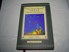 *NEW DELUXE HARDCOVER* THE GREAT GATSBY F SCOTT FITZGERALD GOLD PAGE ENDS