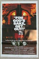 1979 Movie THE AMITYVILLE HORROR 41 x 27 one sheet original movie poster