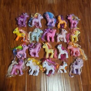 My Little Pony G3 Ponies Lot 20 Glitter Celebration Pony Rare Retired Generation