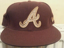 59 fifty new era major league baseball cap atlanta braves size 7 1/4  58cm