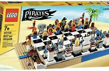 LEGO Pirates Chess Board Game Set - 40158 - New Sealed In Box