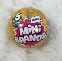 Mini Brands Series 2 Zuru 5 Surprise ONE 1 Collectable Capsule Gold Ball Sealed