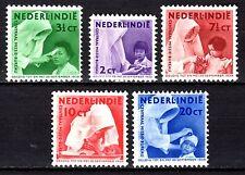 Dutch Indies - 1938 Mission - Mi. 255-60 MH