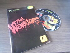 pour xbox the warriors + notice