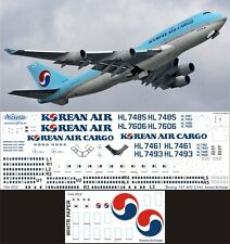 Boeing 747-400 1/144 Korean Air Decal by Ascensio 744-002