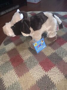 Ganz Webkinz Brown Cow with Sealed Code RARE & RETIRED HM197