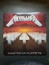 1986 Metallica ‎Master Of Puppets LP Vinyl Elektra Records ‎9 60439-1 VG+/NM