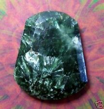 41.5 Ct.Seraphinite Gemstone Facet Bell Fancy Natural