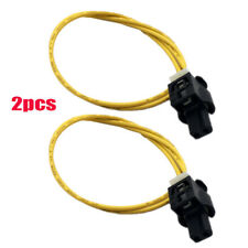 2*LED Daytime Running Light / Foglight Connector Pigtail for 08-19 Mercedes Benz