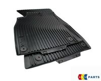 NEW GENUINE AUDI A4 08-16 A4 ALLROAD 10-16 FRONT BLACK RUBBER FLOOR MATS LHD