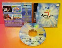 Sydney 2000 Olympic Sega Dreamcast DC Dream Cast - Mint Disc 1 Owner, Bought New