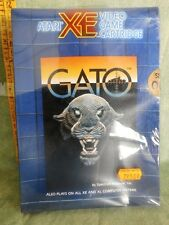 ATARI XE VIDEO GAME CARTRIDGE  GATO  FONDO DI MAGAZZINO