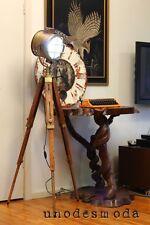 CLASSY NAUTICAL TRIPOD FLOOR TABLE LAMP Spot Light Vintage Industrial - RRP$799