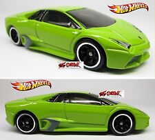 Hot Wheels 2010 SPEED MACHINES Lamborghini Reventon LIME GREEN,2ND COLOR,LOOSE