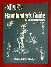 Dupont Handloader's Guide for Smokeless Powders, 1977