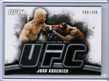 2010 TOPPS UFC KNOCKOUT JOSH KOSCHECK AUTHENTIC FIGHT MAT RELIC /288