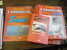 école d'aéromodélisme et de radiocommande - construction de l'avion scout