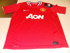 Manchester United 2011/12 Soccer Home Jersey SS Boys L